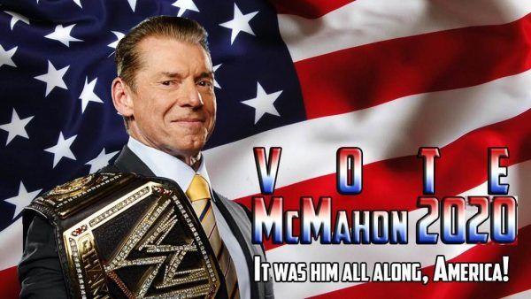 vince mcMahon president