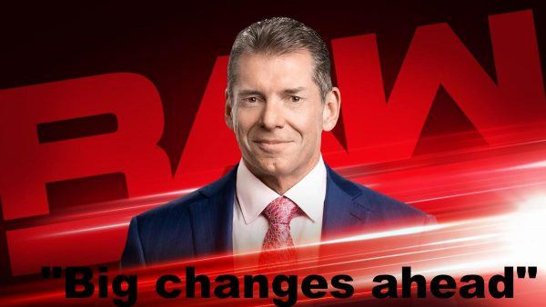 vince wwe changes