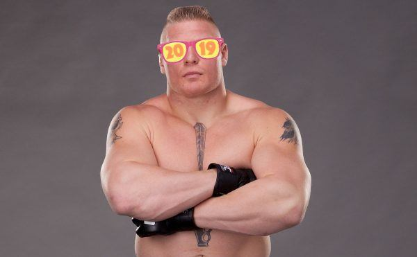 Brock lesnar title defenses