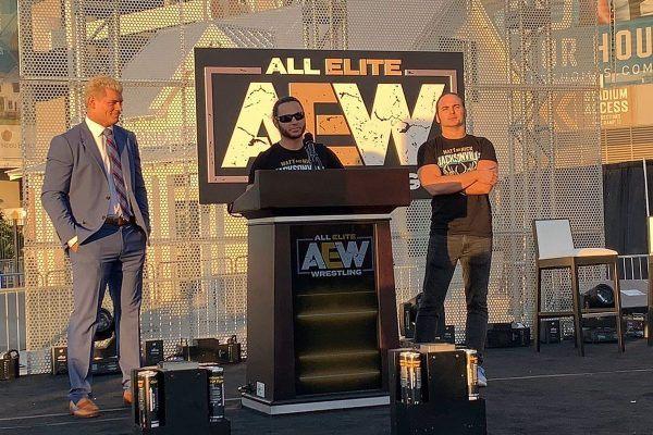 aew press conference