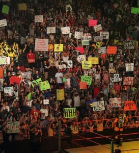 Wrestling sign