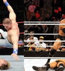 Rock Cena Wrestlemania