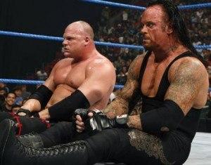 Undertaker and Kane