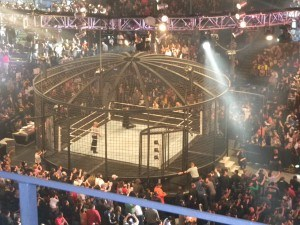 elimination chamber 300x225 Overcrowded prison system adopts the Elimination Chamber model