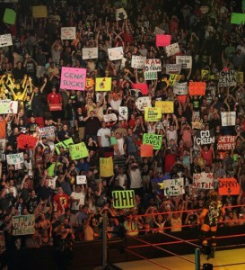 WWE sign