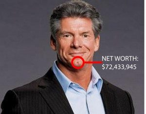 Vince McMahon chin
