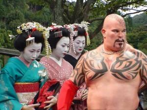 Lord Tensai geishas