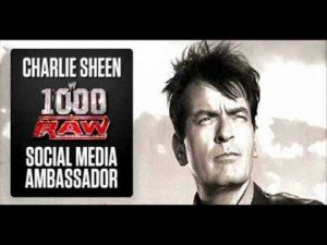 Charlie Sheen WWE