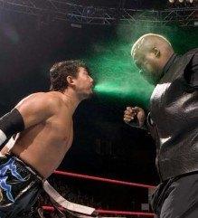 Green mist wrestling