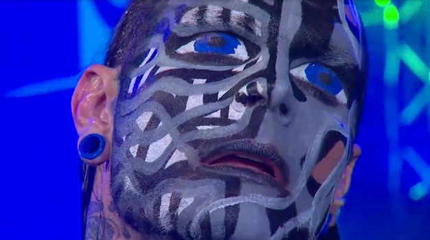 Jeff Hardy checks himself into rehab for addiction to face paint
