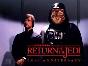 VaderStarWars 300x225 George Lucas reveals that Skywalkers father is actually wrestler Vader