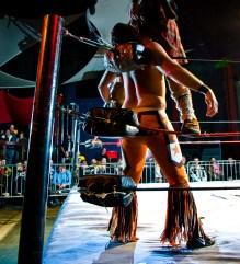 Wrestling homophobic