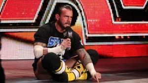CM Punk injury