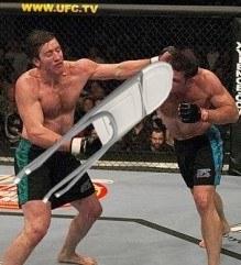 UFC illegal moves