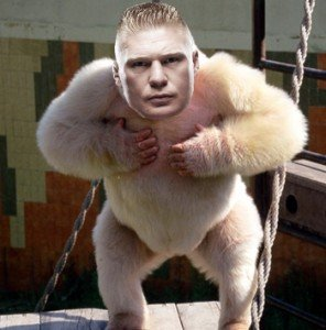 brock lesnar gorilla