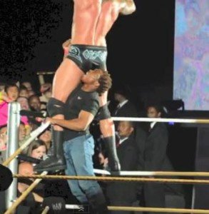Orton attacked south africa