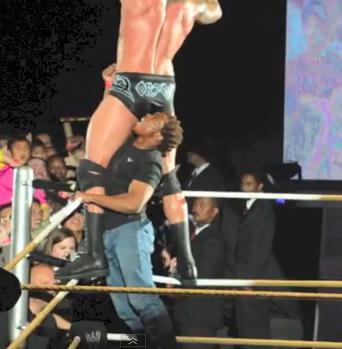 The man Who attacked Orton  Orton-attacker