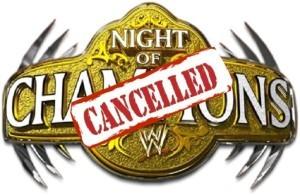 Night of Champions WWE