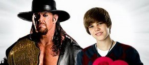 bieber undertaker 300x131 Bieber confirmed for retirement match against Undertaker