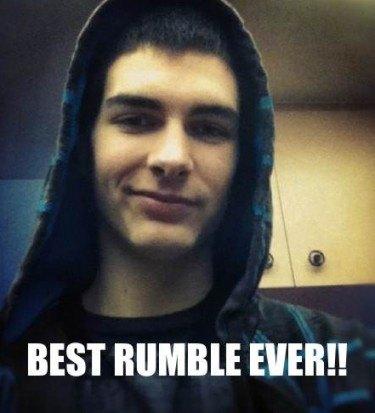 Wrestling fan dumb