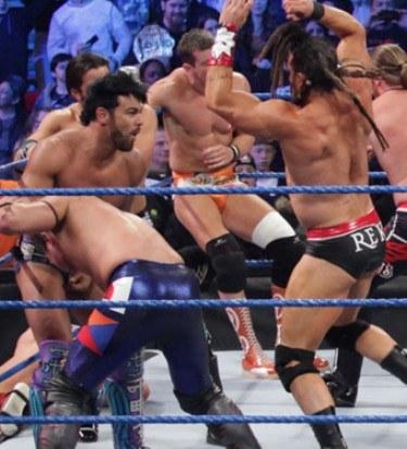 Wrestling gay