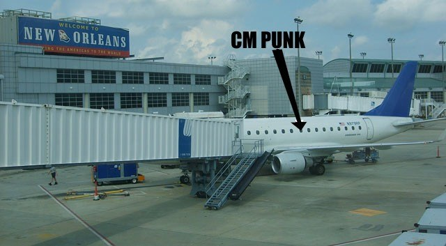 CM Punk Arrives in New Orleans