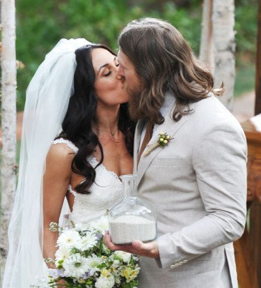 Daniel Bryan wedding pictures