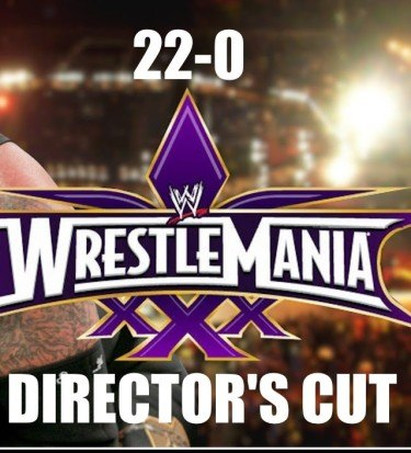 undertaker's streak