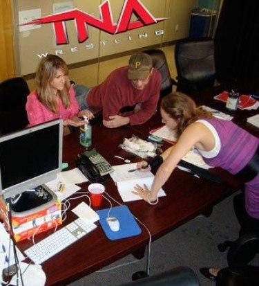 TNA writers