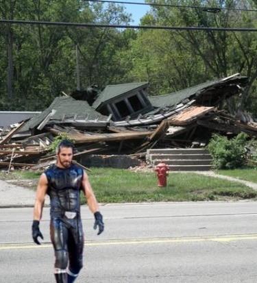 Seth Rollins home.