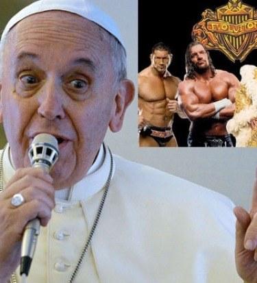 pope big bang