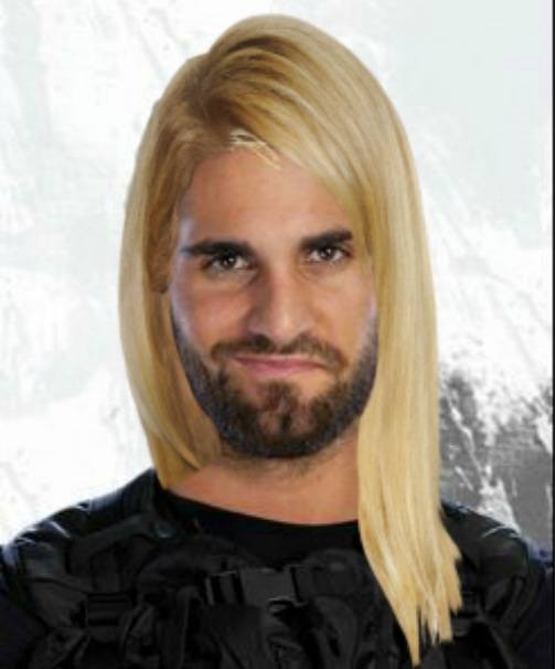 Rollins Finally Finds Remainder Of Blond Hair Dye