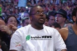 shocked fan kayfabe news shirt 2