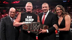 WWE title defence