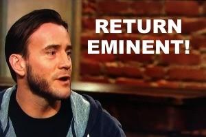 CM punk wwe return