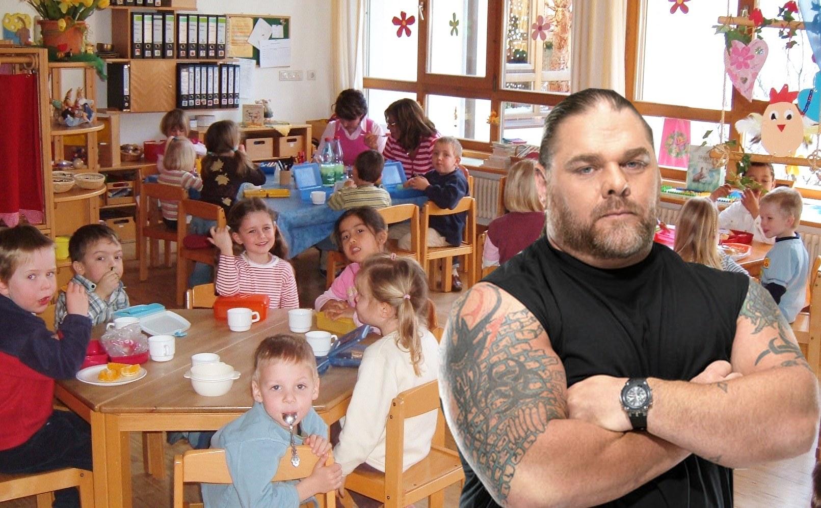 Kindergarten School Teacher