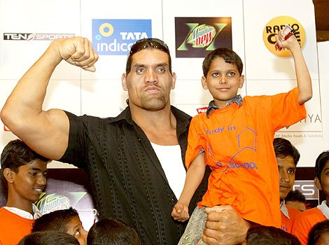The great khali wrestler Great Khali