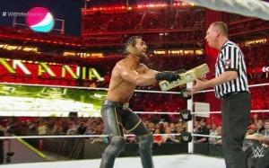 Rollins wrestlemania