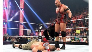 Wrestlers calling spots