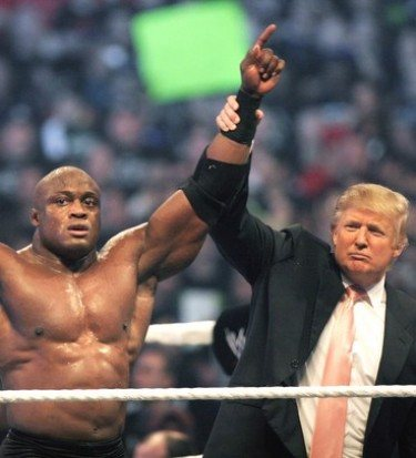 Trump president wwe