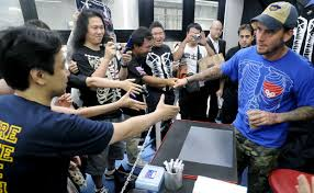 CM Punk tokyo