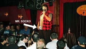 Mr. Socko foley
