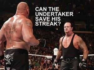 Lesnar streak
