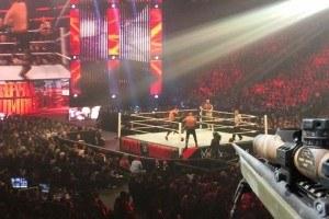 WWE barricade-jumpers