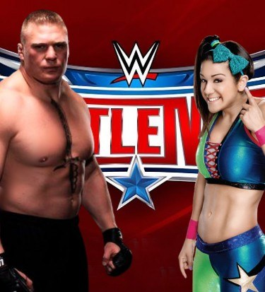 Lesnar wrestlemania 32