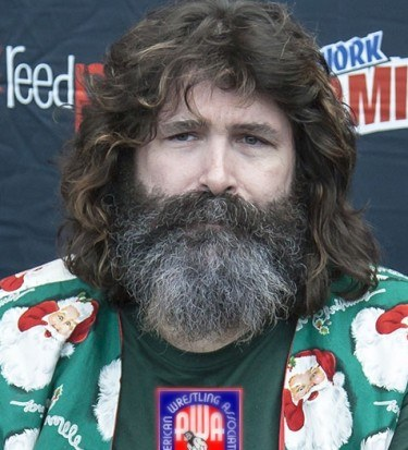 Mick foley getting close