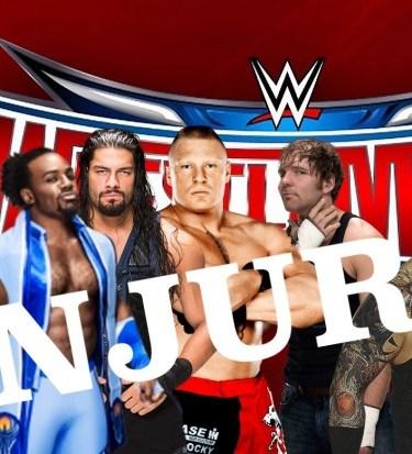 WWE injuries 2016