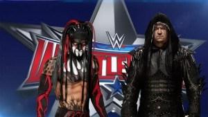 Undertaker opponent wrestlemania 32