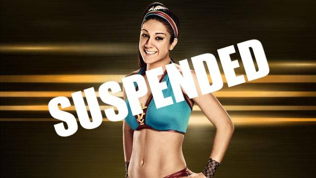 Bayley Suspended After Hugging Mcmahon Kayfabe News