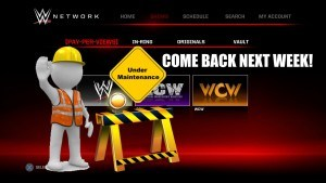 WWE network down